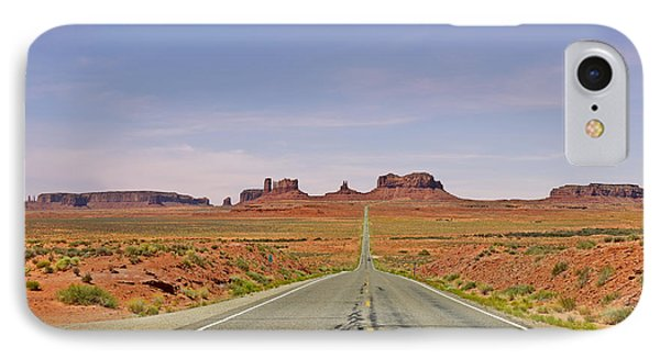 Monument Valley - The Classic View Phone Case by Christine Till