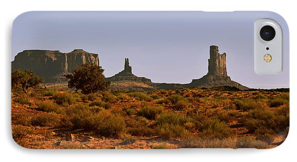 Monument Valley - Unusual Landscape Phone Case by Christine Till