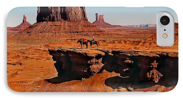 Monumental Valley View IPhone Case