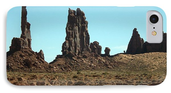IPhone Case featuring the photograph Monuments by Fred Wilson