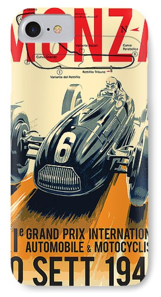 Monza Grand Prix IPhone Case