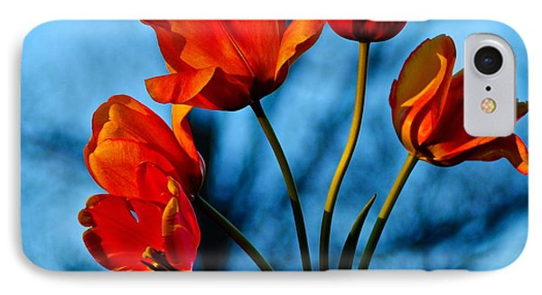 Mood Bouquet Phone Case by Frozen in Time Fine Art Photography