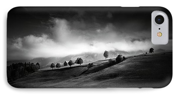 Moody Autumn Day IPhone Case