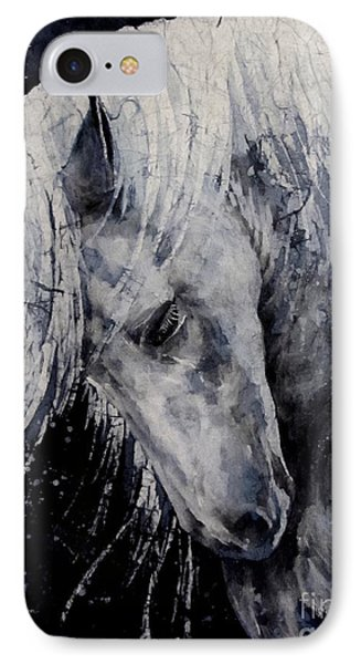 Moody Blues IPhone Case by Hailey E Herrera