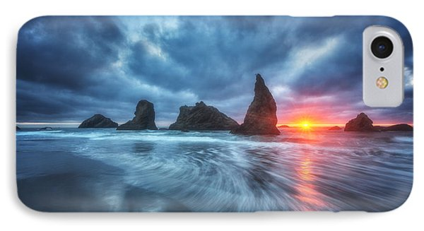Moody Blues Of Oregon Phone Case by Darren  White