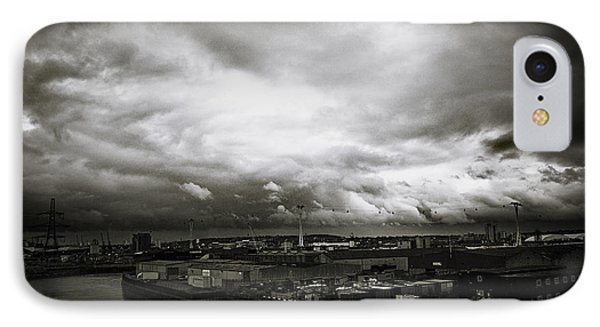 Moody Skies In London Phone Case by Lenny Carter