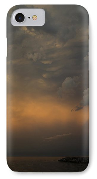 Moody Storm Sky Over Lake Ontario In Toronto IPhone Case