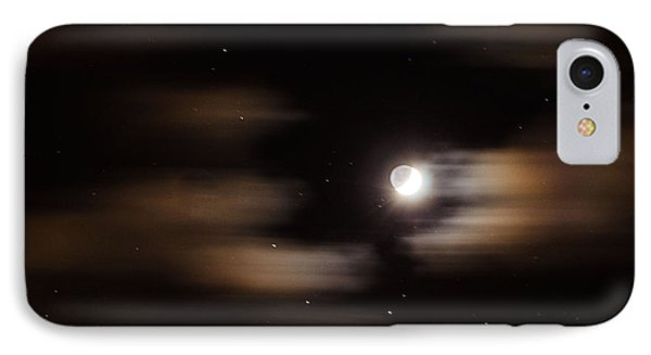 Moon And Stars II IPhone Case by Judy Wolinsky