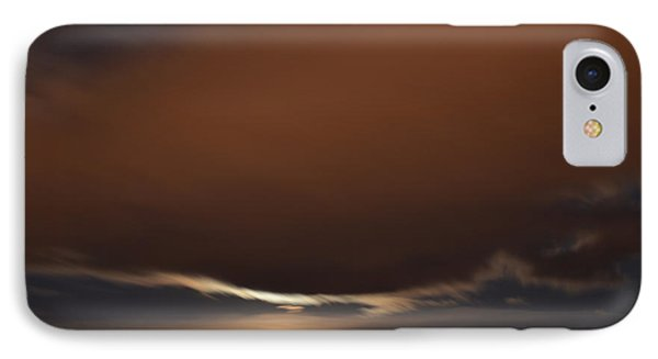 IPhone Case featuring the photograph Moon Behind Clouds At Night  by Lyle Crump