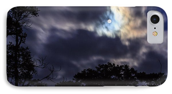 Moon Break IPhone Case by Peta Thames