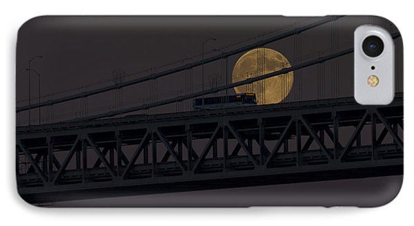 IPhone Case featuring the photograph Moon Bridge Bus by Kate Brown