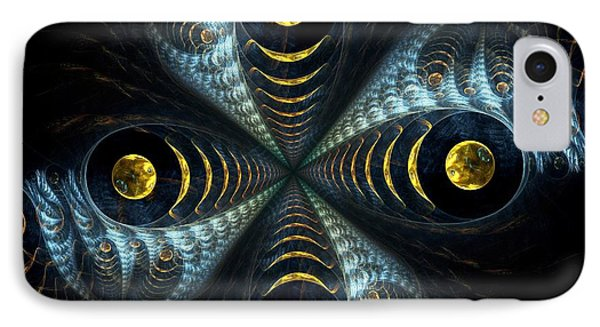 Moon Cross IPhone Case by Anastasiya Malakhova