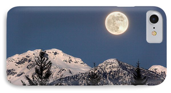Moon Glow Whistler Canada Phone Case by Pierre Leclerc Photography