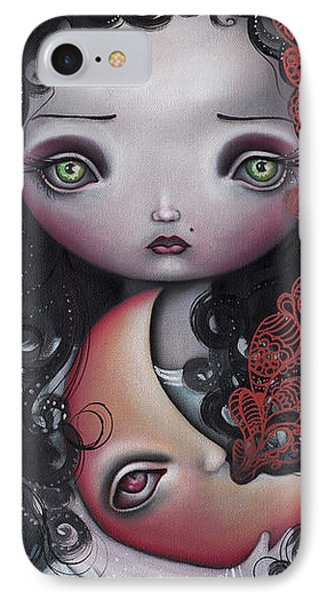 Moon Keeper Phone Case by Abril Andrade Griffith
