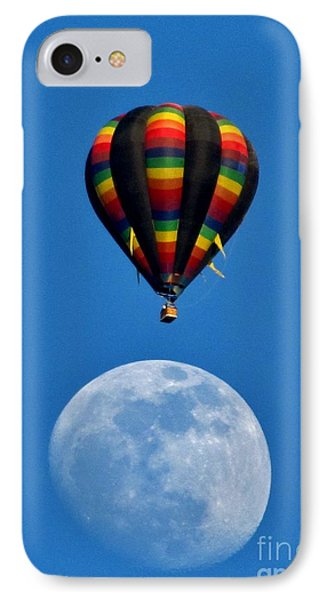 Moon Landing IPhone Case by Marilyn Smith