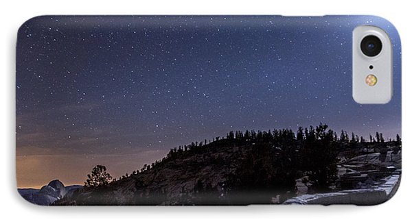 Moon Light At Olmstead Point Phone Case by Cat Connor