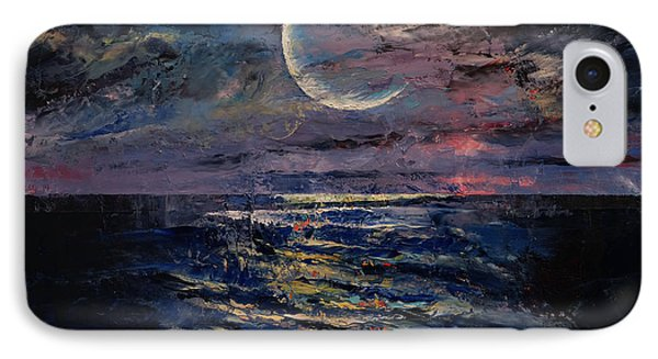 Moon IPhone Case by Michael Creese