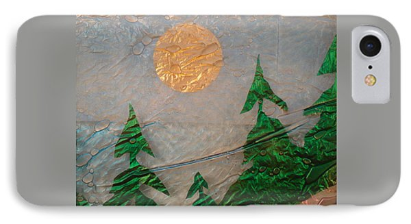 Moon Mist  Phone Case by Rick Silas