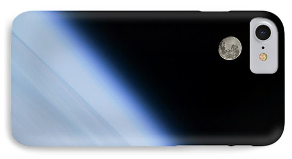 Moon Over Earth IPhone Case