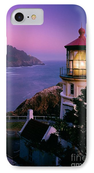 Moon Over Heceta Head IPhone Case