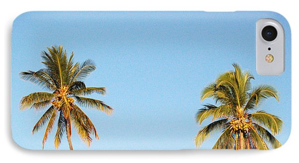 Moon Over Molokai IPhone Case by Terry Holliday