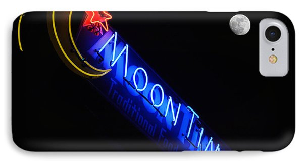 Moon Over Moon Time IPhone Case