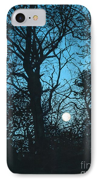 Moon Over Pittsburgh Phone Case by Barbara Jewell
