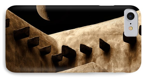 Moon Over Santa Fe IPhone Case