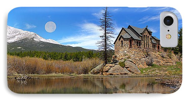 Moon Over St. Malo Phone Case by Shane Bechler
