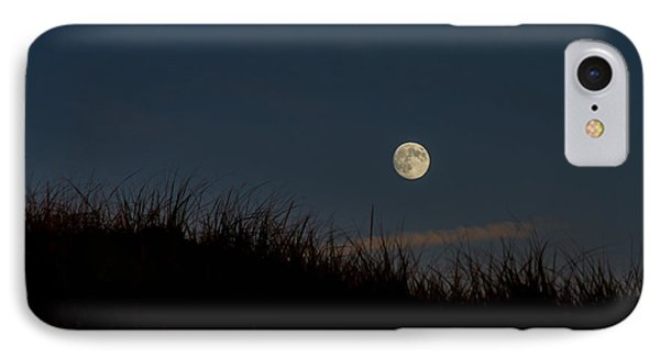 Moon Over The Dunes IPhone Case
