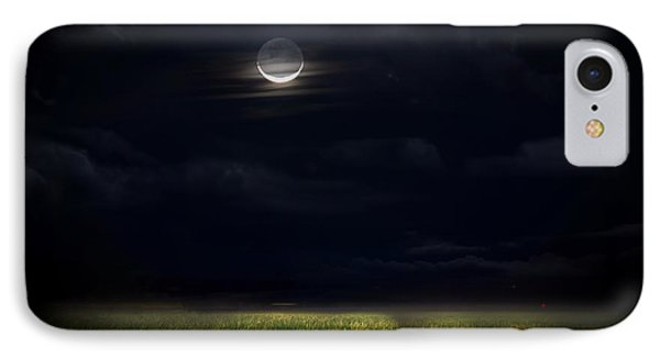Goodnight Moon IPhone Case by Mark Andrew Thomas