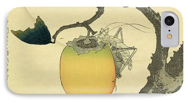 Moon Persimmon And Grasshopper IPhone 7 Case
