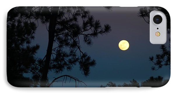 Moon Rise In Twilight IPhone Case