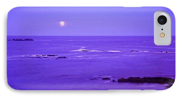 Moon Rises Over Monashka Bay At Ft IPhone Case