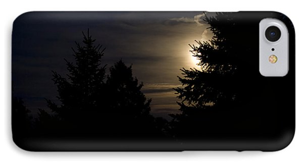 Moon Rising 02 Phone Case by Thomas Woolworth