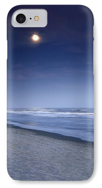 Moon Rising Over Hilton Head Phone Case by Phill Doherty