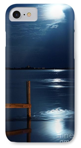Moon River 2 IPhone Case by Lynda Dawson-Youngclaus