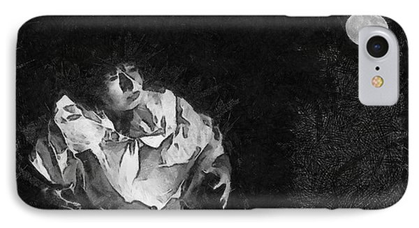 Moon Shadow Phone Case by George Rossidis