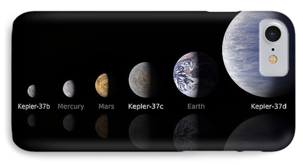 Moon Size Line Up Phone Case by Movie Poster Prints