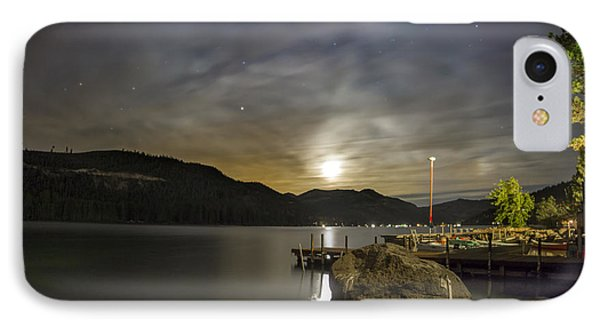 Moon Trance IPhone Case by Jeremy Jensen