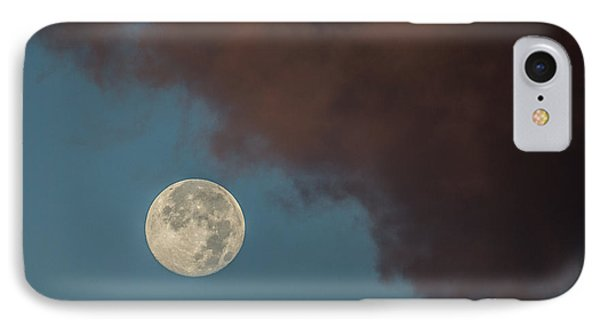 Moon Transition From Night To Day Phone Case by Rene Triay Photography