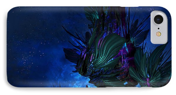 Moon Tree Hills IPhone Case by Cassiopeia Art