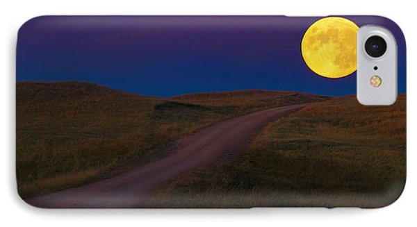 IPhone Case featuring the photograph Moon Way by Kadek Susanto