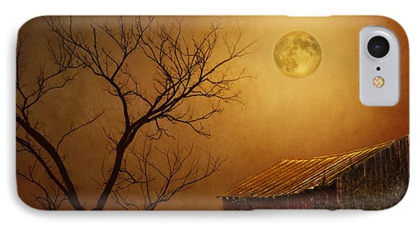 Moonglow Over Polenz Ranch Phone Case by Nikolyn McDonald