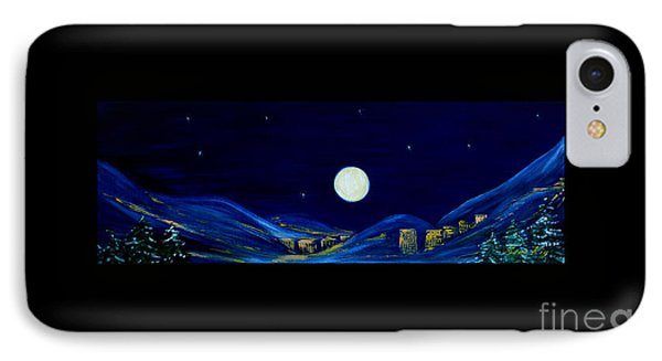 Moonlight 2013. Inspirations Collection IPhone Case by Oksana Semenchenko