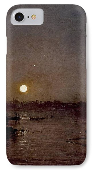 Moonlight A Study At Millbank 1797 IPhone Case by J M W Turner