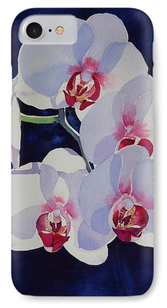 IPhone Case featuring the painting Moonlight Dance by Judy Mercer