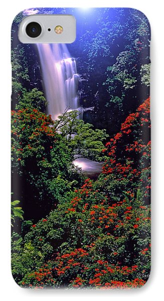 Moonlight Falls IPhone Case by Marie Hicks