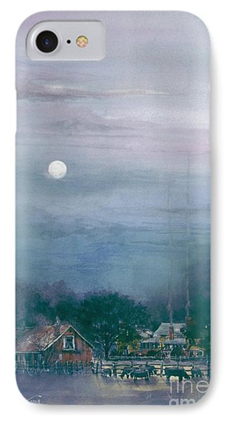 Moonlight Farm IPhone Case by Tim Oliver
