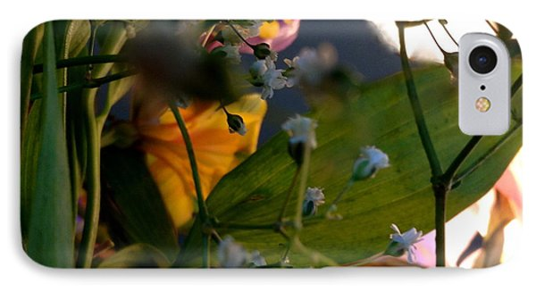 Moonlight Flowers IPhone Case by Susan Townsend
